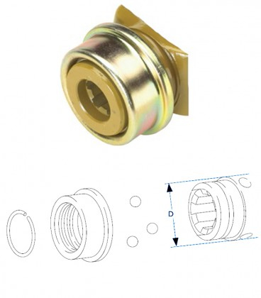 Kit Reparacion Acople Modelo ASG
