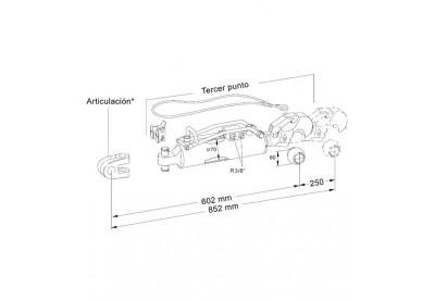 Tercer Punto Hidraulico Hasta 150 CV Standar