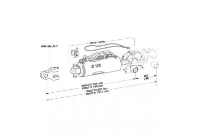 Tercer Punto Hidraulico Hasta 400 CV