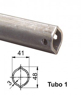 Tubo Limon Hembra Walterscheid para Tipo 2100-2200 y 2300
