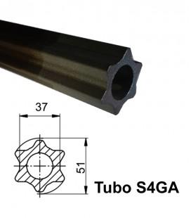 Tubo Homocinetico Estrella Macho Walterscheid para Tipo 2580