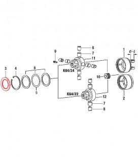 Recambios Embrague Automatico K64/22-24 Transmision Cardanes Walterscheid